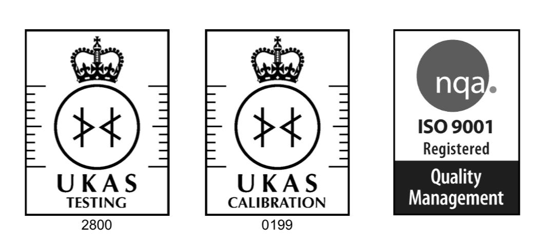 UKAS testing, UKAS calibration, ISO 9001