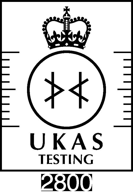 UKAS Testing 2800 Logo